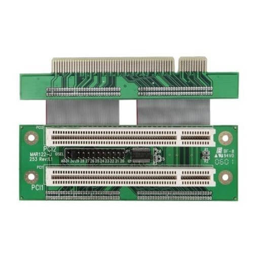 Riser card para Mini-ITX con 2 slot PCI Flexible