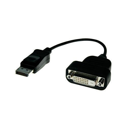 Adaptador Activo DisplayPort macho a DVI-D Hembra