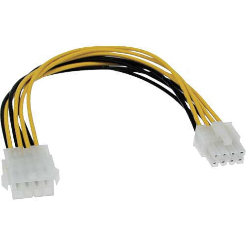 Inline 26631. Cable alargador 8 pines PCI Express 20cm