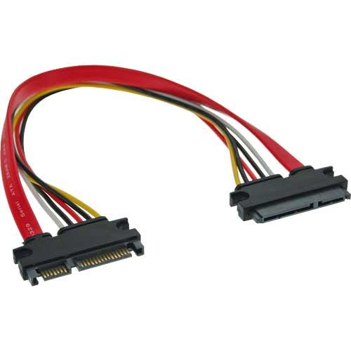 Inline 29652A Alargador interno SATA (Power+datos)