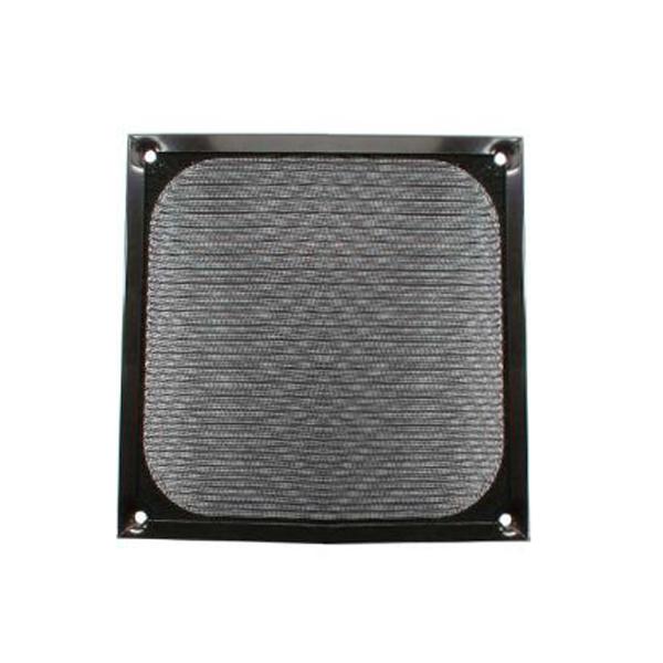 InLine33376S. Rejilla de aluminio 60x60mm Negra