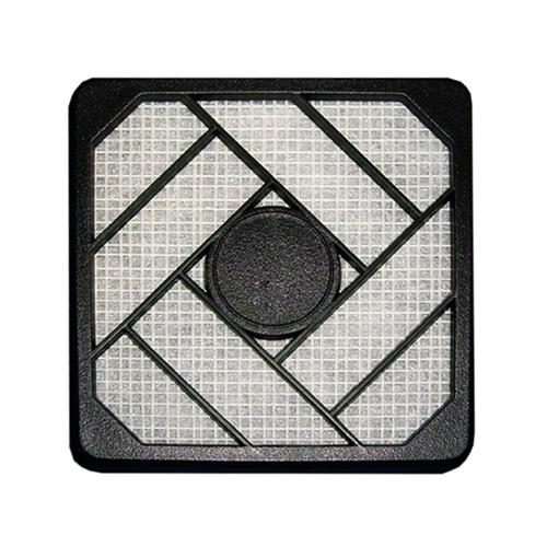 InLine 33478. Filtro de plástico 80 x 80mm Negro