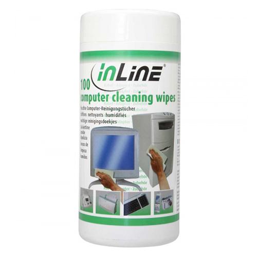 Inline 43200. PAK 100 toallitas de Limpieza