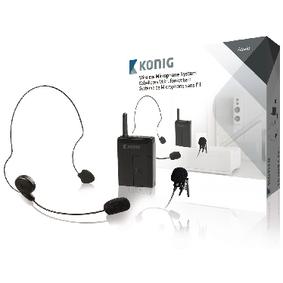 Sistema de micrófono inalámbrico con transmisor
