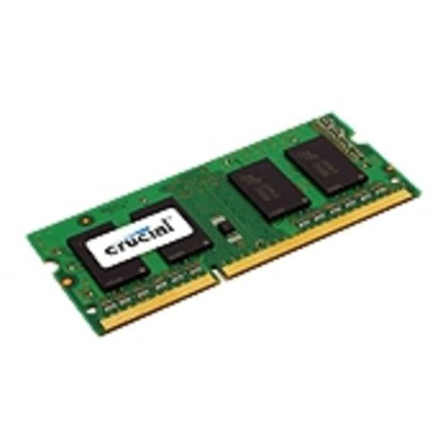 Crucial 4Gb SO-DIMM DDR-3 (portatil) 1600MHz (Single side) 1.35V