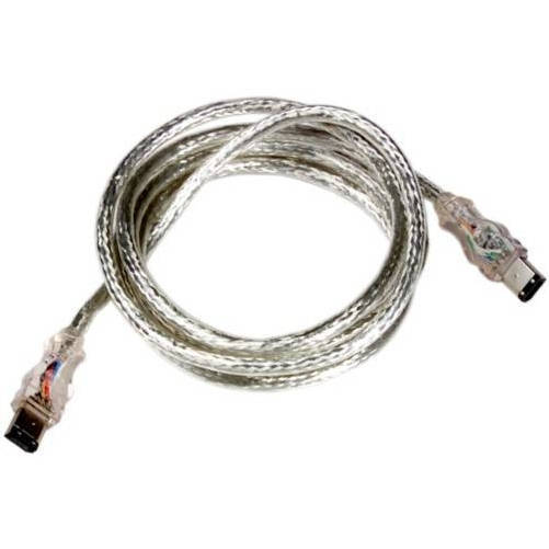Revoltec RC034. Firewire/IEEE-1394 Flashing Cable de datos, 1,8m, azul