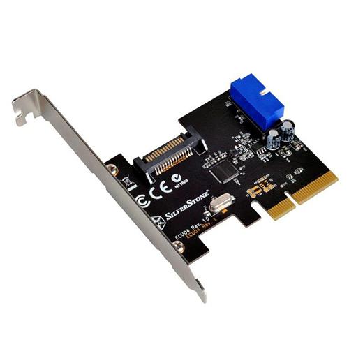 ECU04: Tarjeta PCI-E 2X Gen 2.0 USB 3.1 interno