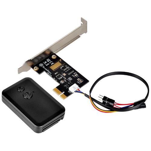 SilverStone ES01-PCIe. Controlador de encendido y reseteo remoto del PC