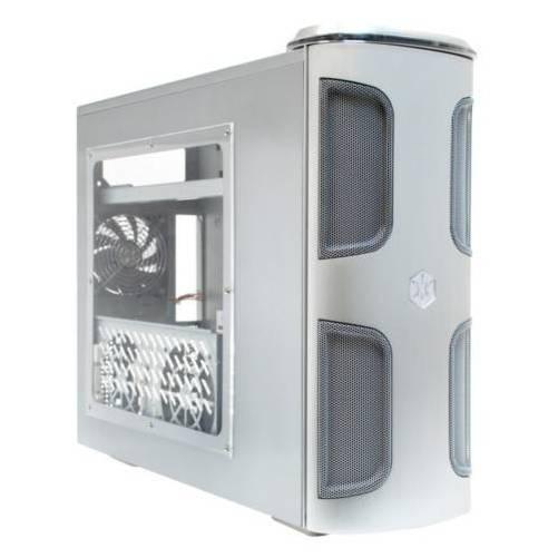 Silverstone KL03S-W Silver con ventana