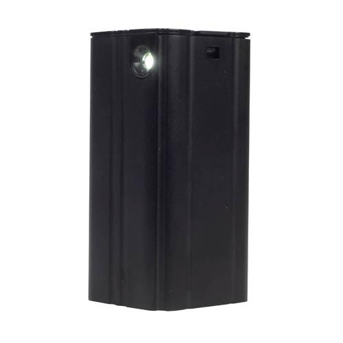 SilverStone PB03B Negra. Cargador y linterna