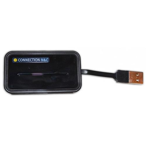 Lector DNI + tarjetas multimedia por USB