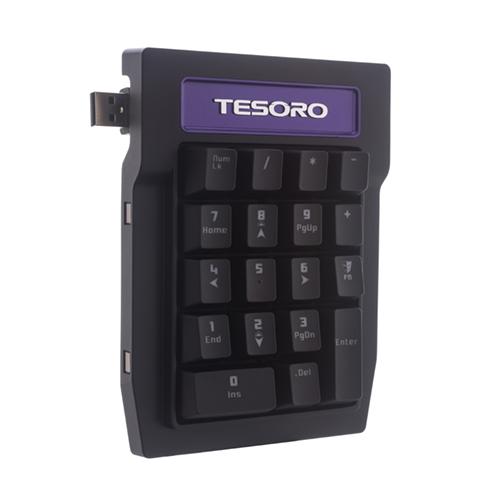 Tesoro Tizona Numpad. Extensión teclado mecánico Brown Switch