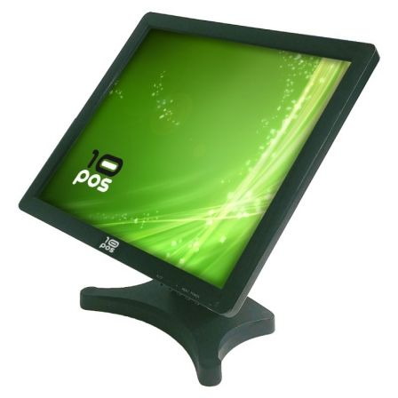 "MONITOR TACTIL 10POS TS-19V - 19""/48.26CM COLOR TACTIL - 1280*1024 - 500CD/M2 - 800:1 - VGA - USB - NEGRO"