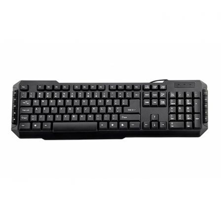 TECLADO MULTIMEDIA USB 3GO DRILE -105 TECLAS + 10MULTIMEDIA - USB