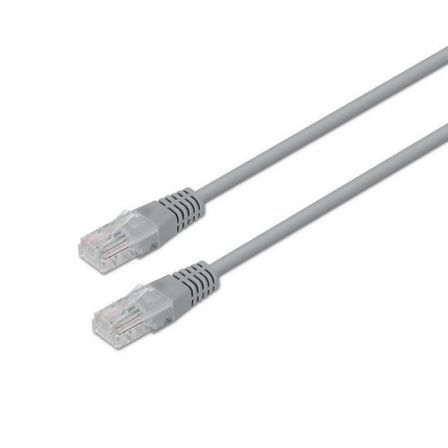 LATIGUILLO DE RED AISENS A133-0179 - RJ45 - UTP - CAT5E - 2M - GRIS | Cables de red + 2 mt