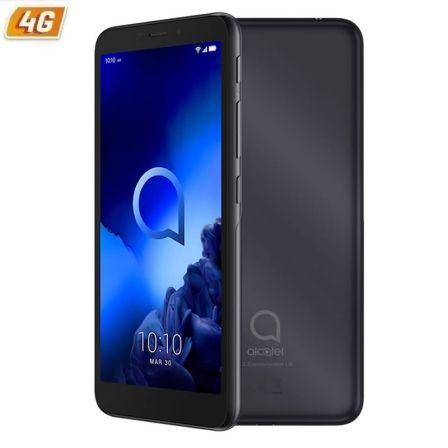 "SMARTPHONE MOVIL ALCATEL 1V 2019 ANTHRACITE BLACK - 5.5""/13.9CM - OC - 1GB RAM - 16GB - CAM 5/5MPX - ANDROID PIE GO - 4G - DUAL"