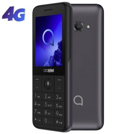 "SMARTPHONE MOVIL ALCATEL 3088 METALLIC GREY - 2.4""/6CM - DC - 512MB RAM - 4GB - CAM 2MPX - 4G - BAT 1530MAH"