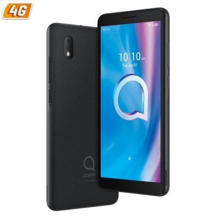 "SMARTPHONE MOVIL ALCATEL 1B 2020 5002D BLACK - 5.5""/13.97CM - QC - 2GB RAM - 16GB - CAM 8/5MPX - ANDROID 10 GO EDITION - 4G - DU"