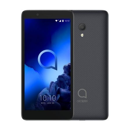 "SMARTPHONE MOVIL ALCATEL 1C 2019 BLACK - 5""/12.7CM - QC 1.3GHZ - 1GB RAM - 8GB - CAM 5/5MPX - ANDROID 8.1 - DUAL SIM - BAT 2000M"