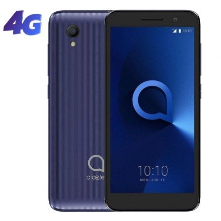"SMARTPHONE MOVIL ALCATEL 1 2019 BLUISH BLACK - 5""/12.7CM - QC MEDIATEK MT6739 - 1GB RAM - 8GB - CAM 5/2MPX - ANDROID - 4G - DUAL"