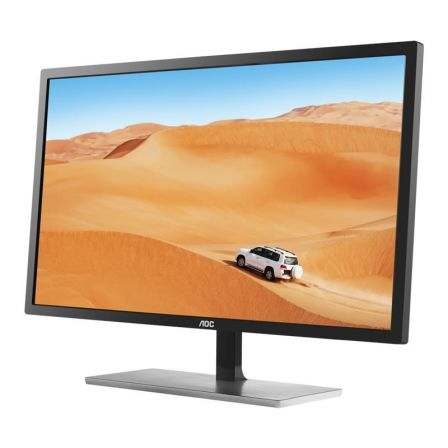 "MONITOR LED AOC Q3279VWFD8 - 31.5""/80CM IPS - 2560*1440 - 75HZ - 16:9 - 250CD/M2 - 20M:1 - 5MS - HDMI / VGA / DISPLAYPORT / DVI 