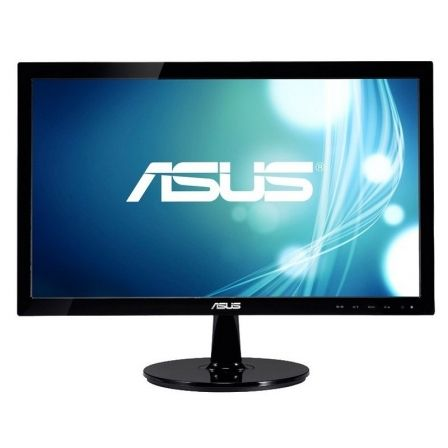 "MONITOR ASUS VS207DF - 19.5""/49.5CM - HD 1366*768 - 5MS - 200CD/M2 - VGA - VESA 75*75 - NEGRO 