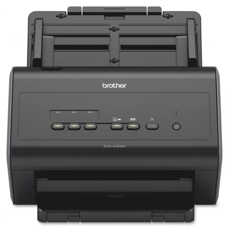 ESCANER DOCUMENTAL BROTHER ADS-2400N - ADF - OPTICO 600X600DPI - DUPLEX - ETHERNET / USB2.0 - COMPATIBLE WINDOWS / MAC / LINUX