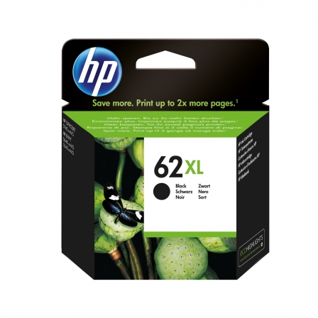 CARTUCHO NEGRO HP N62XL - PARA ENVY 5640 AIO/OFFICEJET 5740 CON. WEB/ENVY 7640-W (600 PAG) | Consumibles hp