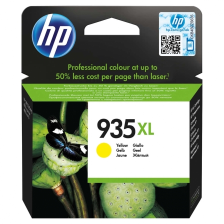 CARTUCHO AMARILLO HP N935XL - 825 PAGINAS - PARA OFFICEJET PRO 6830 | Consumibles hp