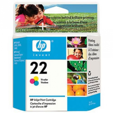 CARTUCHO COLOR HP N22 PARA PSC 1410/D2460/F380/4315/F2280 | Consumibles hp