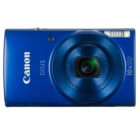 "CAMARA DIGITAL CANON IXUS 190 AZUL - 20MPX - LCD 2.7""/6.85CM - ZOOM 10X OPT ESTABILIZADOR IMAGEN - VIDEO HD - USB - BATERIA - WI"