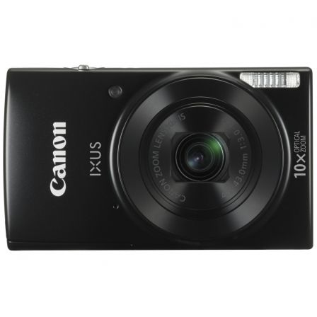 "CAMARA DIGITAL CANON IXUS 190 NEGRA - 20MPX - LCD 2.7""/6.85CM - ZOOM 10X OPT ESTABILIZADOR IMAGEN - VIDEO HD - USB - BATERIA - W"