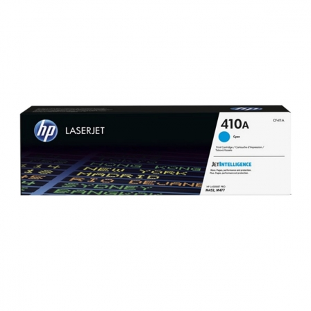 TONER CIAN HP CF411A JETINTELLIGENCE - N410A - 2300 PAGINAS - COMPATIBLE CON LASERJET M452DN/NW / M477FDN/FDW/FNW | Toner hp