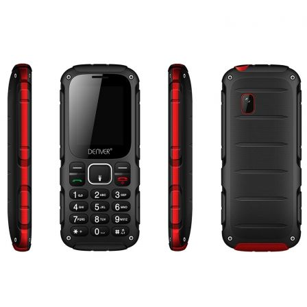 TELEFONO DENVER WAS-18110M - PANTALLA COLOR 1.77 #34;/4.49CM - CAMARA 0.8MPX - FUNCION SMS - RADIO FM - BT - DUALSIM - BAT 500MA | Moviles libres