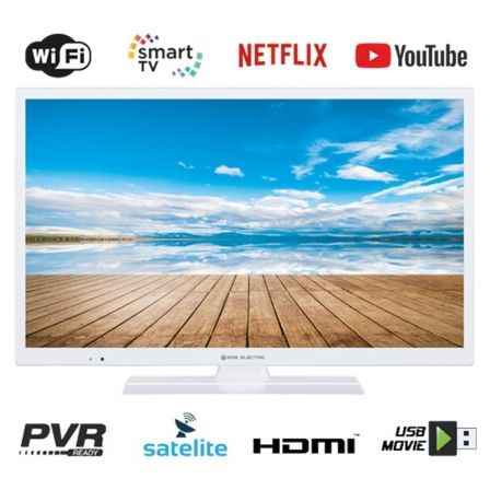 "TELEVISOR EAS ELECTRIC E32SL701W BLANCO - 32""/81.2CM - 1366*768 - DVB-T/T2/C/S/S2 HEVC - SMART TV - WIFI - VGA - 2*HDMI - USB -"