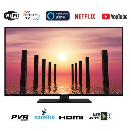 "TELEVISOR EAS ELECTRIC E32SL702 - 32""/81.2CM - 1366*768 - DVB-T/T2/C/S/S2 HEVC - SMART TV - WIFI - VGA - 2*HDMI - USB - LAN - VE"