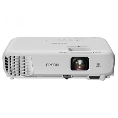 PROYECTOR PORTATIL 3LCD EPSON EB-S05 - 3200 LUMENES - 15000:1 - 800X600 SVGA - ZOOM DIG. 1.35X - VGA/HDMI/COMPUESTO/USB - 2W OES | Proyectores