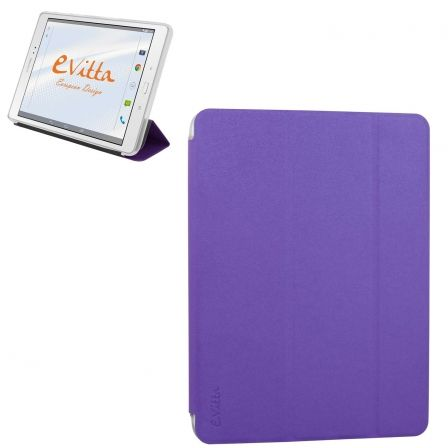 FUNDA EXCLUSIV E-VITTA TRIFLEX SMART FULL COVER PURPLE PARA SAMSUNG GALAXY TAB A 10.1 - SE PLIEGA EN ANGULO PARA FUNCION ATRIL | Fundas para samsung galaxy