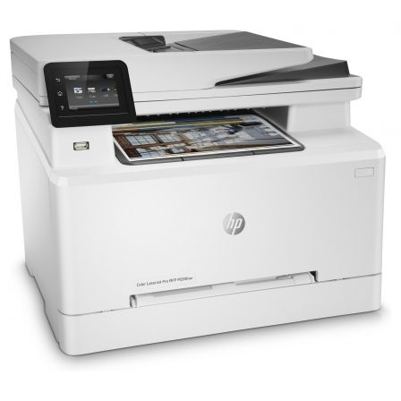 MULTIFUNCION HP WIFI LASER COLOR PRO M280NW - 38/21PPM - SCAN 1200X1200PPP - ETHERNET - ADF - AIRPRINT - TONER CF5000/01/02/03 C | Multifunciones laser color