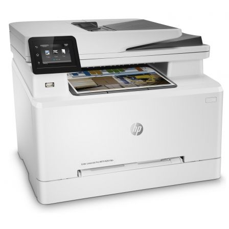 MULTIFUNCION HP CON FAX LASERJET PRO M281FDN - 21/21PPM - 21CPM - SCAN 26PPM - DUPLEX - ADF - USB - RED - EPRINT - HP SMART - TO |