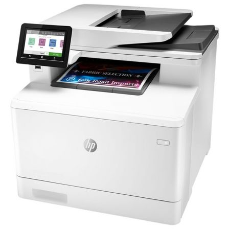MULTIFUNCION HP CON FAX LASERJET PRO COLOR M479FDN - 27/27PPM - DUPLEX - SCAN DOBLE CARA - ADF - USB 2.0 - USB HOST - LAN - TONE | Multifunciones laser color