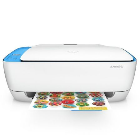 MULTIFUNCION HP WIFI DESKJET 3639 - 20/16 PPM - RES. HASTA 4800X1200PPP - SCAN 1200PPP OPTICA 24BITS - COPIA 600X300PPP - USB 2. | Multifunciones tinta
