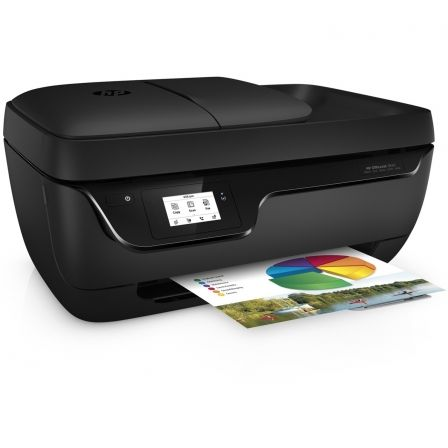 MULTIFUNCION HP WIFI CON FAX OFFICEJET 3833 - 20/16PPM A4 BORRADOR - 7CPM - ESCANER 1200PPP - ADF - EPRINT- AIRPRINT - USB - CAR | Multifunciones