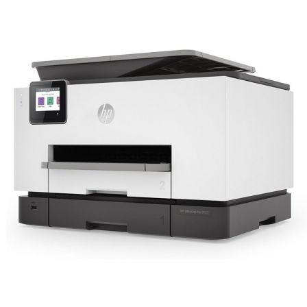 MULTIFUNCION HP WIFI CON FAX OFFICEJET PRO 9022 - 24/20 PPM ISO - DUPLEX - SCAN DOBLE CARA - USB HOST - LAN - ADF - BANDEJA 250 |