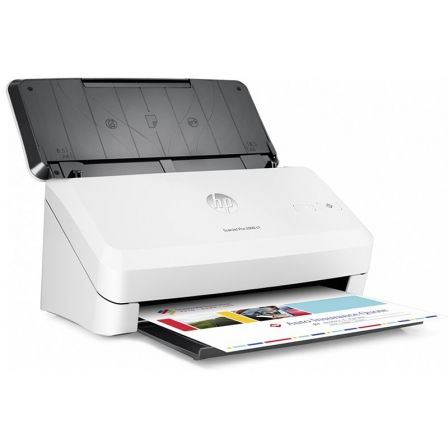 ESCANER DOCUMENTAL HP SCANJET PRO 2000 S1 - 30 PAGINAS POR MINUTO - HASTA 1200PPP - ALIMENTADOR 50 HOJAS - USB 2.0