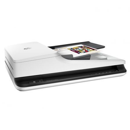 ESCANER DOCUMENTAL HP SCANJET PRO 2500 F1 - 20PPM/40IPM - DUPLEX - 1200PPP - ALIMENTADOR AUTOMATICO 50 HOJAS - USB 2.0