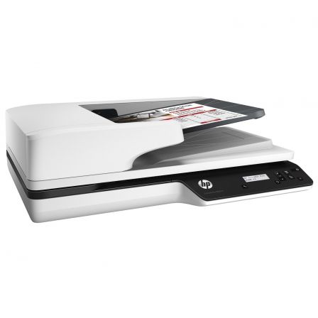 ESCANER DOCUMENTAL HP SCANJET PRO 3500 F1 - 25PPM/50IPM - DUPLEX - 1200PPP - ALIMENTADOR AUTOMATICO 50 HOJAS - USB 3.0