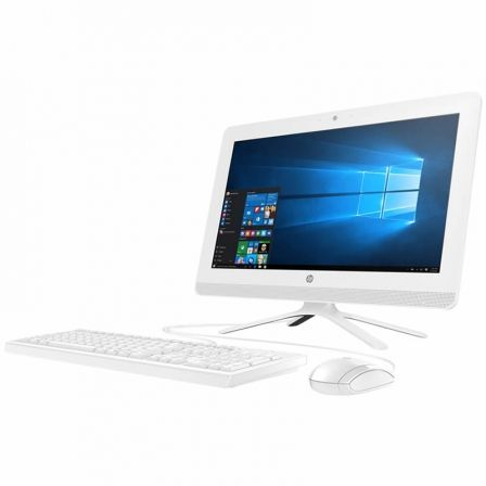 "PC ALL IN ONE HP 20-C410NS - AMD E2-9000 1.8GHZ - 4GB - 1TB - RAD R2 - 19.5""/49.5CM FHD - DVDRW - WIFI - HDMI - BT - TEC+RATON - 