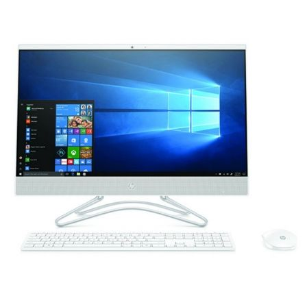 "PC ALL IN ONE HP 24-F0025NS - AMD A9-9425 3.1GHZ - 8GB - 256GB SSD - RAD R5 - 23.8""/60.45CM FHD - WIFI - HDMI - BT - TEC+RATON - 