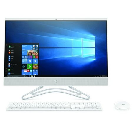 "PC ALL IN ONE HP 24-F0032NS - I3-8130U 2.2GHZ - 8GB - 256GB SSD - 23.8""/60.45CM FHD - WIFI - HDMI - BT - TEC+RATON - NO ODD - W1 